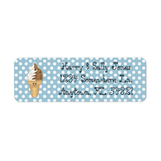 Swirl Baby Return Address Labels
