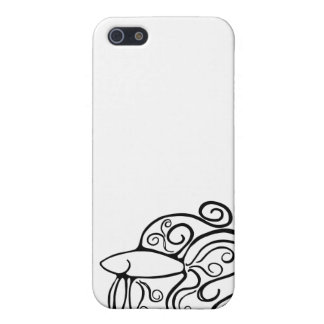 Swirl Betta Fish iPhone 5/5S Covers