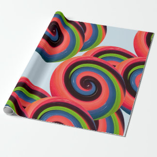 Swirl Candy Wrapping Paper