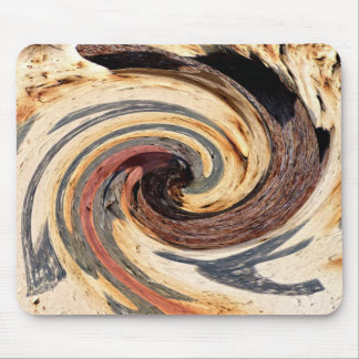 Swirl - Colors of Rust/Rost-Art Mouse Pad