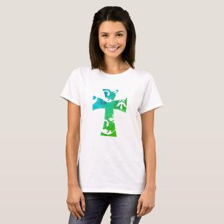 SWIRL CROSS T-Shirt