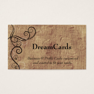 Swirl Design Business Cards