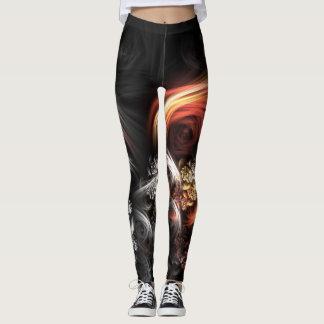Swirl Design Leggings