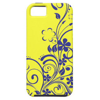 Swirl Flowers iPhone 5 Case