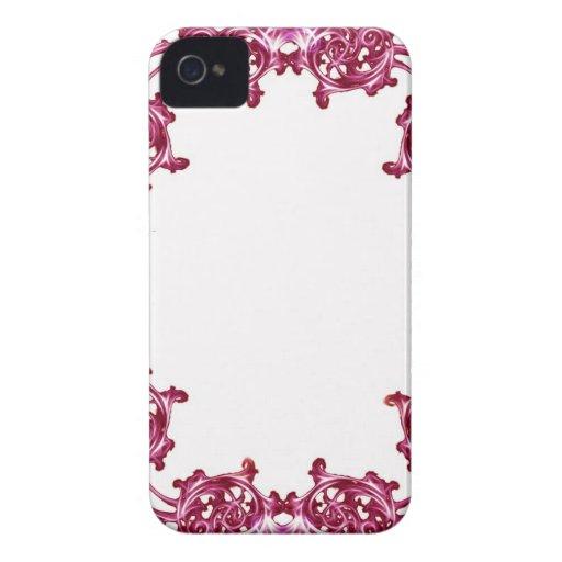 Swirl patern blackberry phone case blackberry bold case