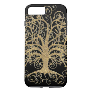Swirl Tree You Choose Background Color iPhone 7 Plus Case