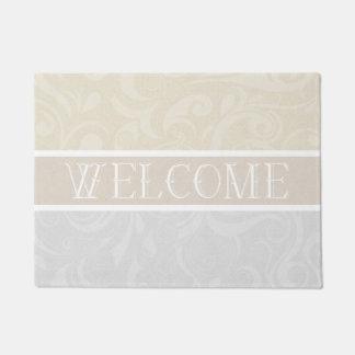 Swirled Elegance Doormat