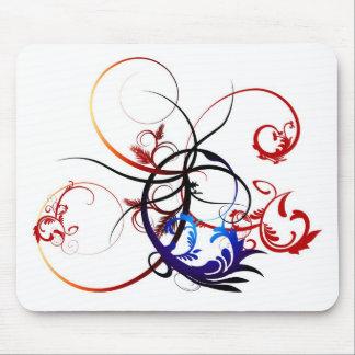 Swirled Mouse Pad