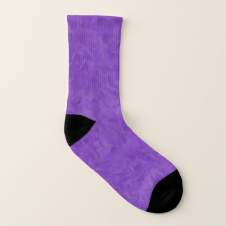 Swirled Shades of Purple Abstract Art 1