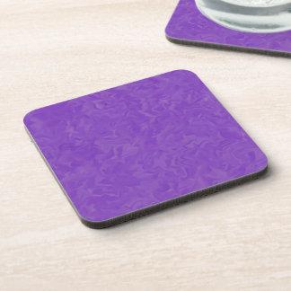 Swirled Shades of Purple Coaster