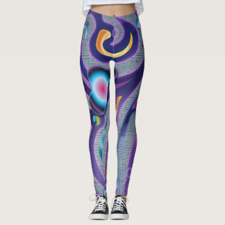 Swirlified Fitness Leggings
