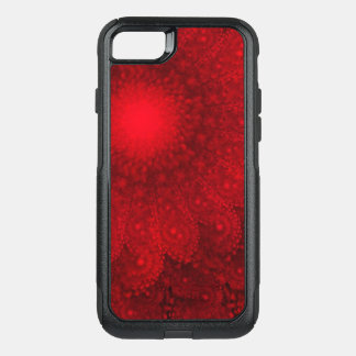 Swirling Abstract Red Daisy OtterBox Commuter iPhone 8/7 Case