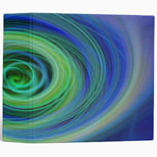 Swirling Abyss Abstract Binder