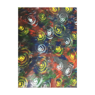 Swirling Beauty Canvas Print
