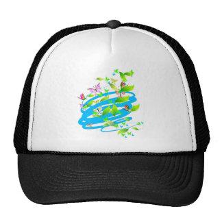 Swirling Butterflies Trucker Hat