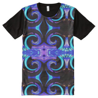 Swirling colors 01.2 All-Over-Print T-Shirt