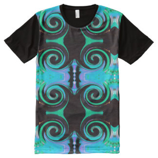 Swirling colors 03.2 All-Over-Print T-Shirt