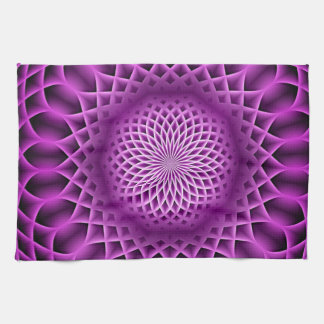 Swirling dreams, hot pink (I) Towel