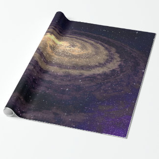 Swirling Galaxy Wrapping Paper