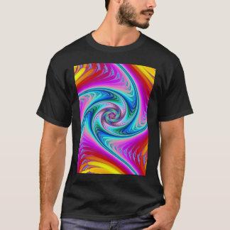 Swirling Neon (dark) T-Shirt