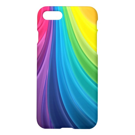 Swirling Rainbow Abstract iPhone 8/7 Case