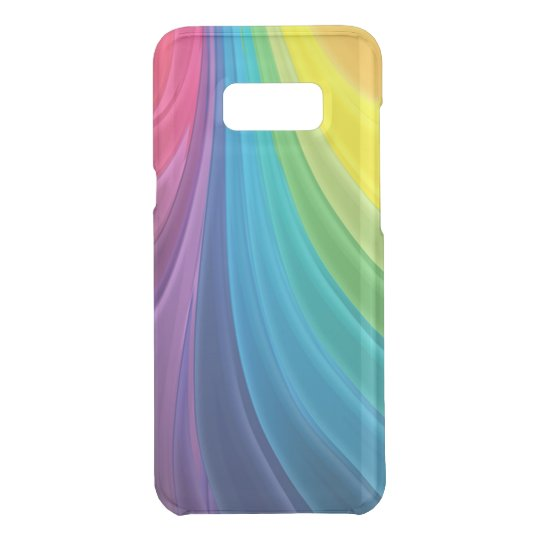 Swirling Rainbow Abstract Uncommon Samsung Galaxy S8 Plus Case