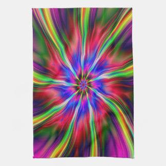 Swirling Star Towels