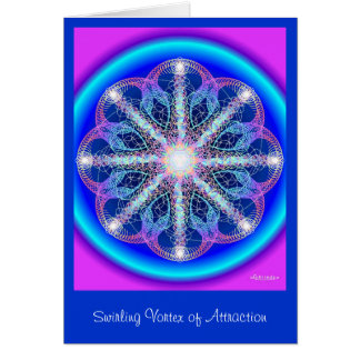 Swirling Vortex of Attraction Card