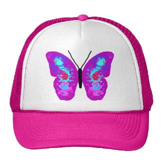 Swirling Wings Butterfly Trucker Hats