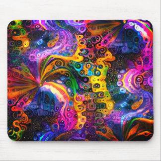 Swirls 3 mouse pad