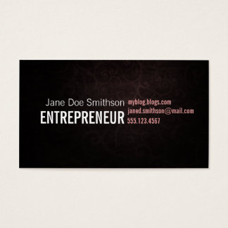 Swirls Abstract Business Card