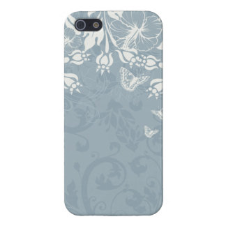 Swirls and Butterflies iPhone 5/5S Covers