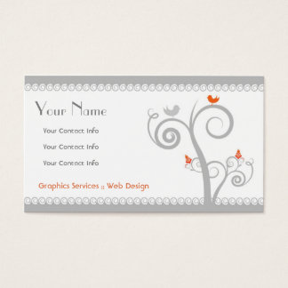 Swirls Business Card