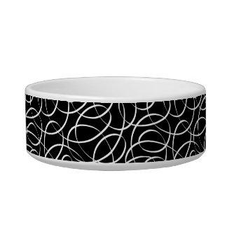 Swirls Cat Bowl