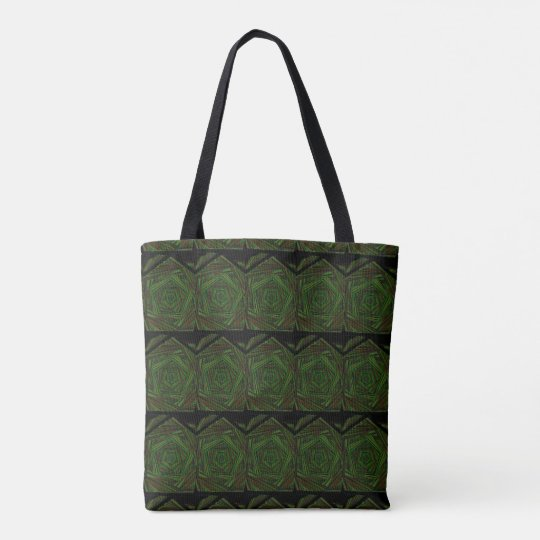 Swirls of Earth Tones Tote Bag