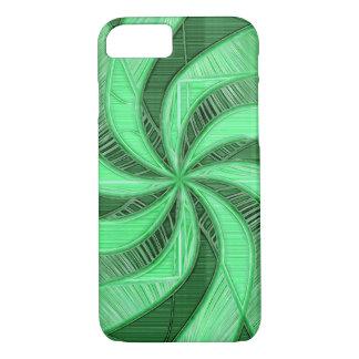 Swirls of Green iPhone 8/7 Case