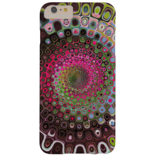 Swirls of psychedelic color iphone case