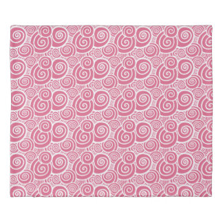 Swirls - Rose double-sided Duvet Cover