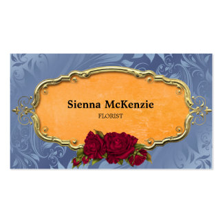 Swirls Roses Pack Of Standard Business Cards