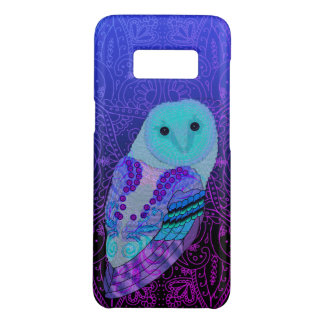 Swirly Barn Owl Case-Mate Samsung Galaxy S8 Case