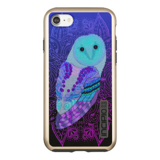 Swirly Barn Owl Incipio DualPro Shine iPhone 8/7 Case