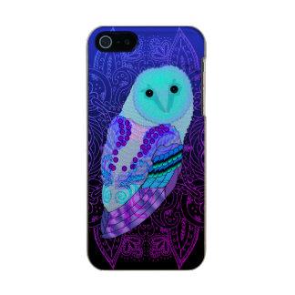 Swirly Barn Owl Incipio Feather® Shine iPhone 5 Case