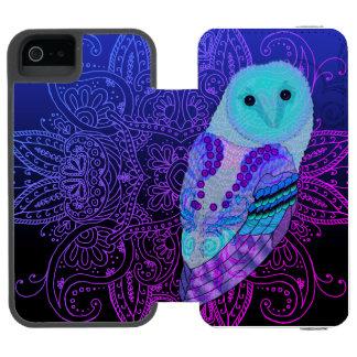 Swirly Barn Owl Incipio Watson™ iPhone 5 Wallet Case