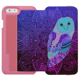 Swirly Barn Owl Incipio Watson™ iPhone 6 Wallet Case