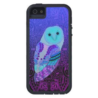 Swirly Barn Owl iPhone 5 Case