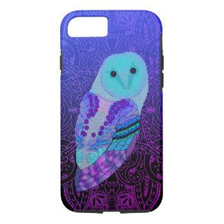 Swirly Barn Owl iPhone 8/7 Case