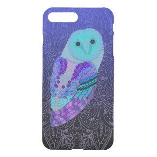 Swirly Barn Owl iPhone 8 Plus/7 Plus Case