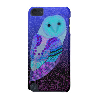 Swirly Barn Owl iPod Touch (5th Generation) Case