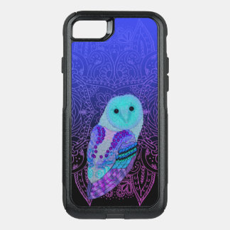 Swirly Barn Owl OtterBox Commuter iPhone 8/7 Case