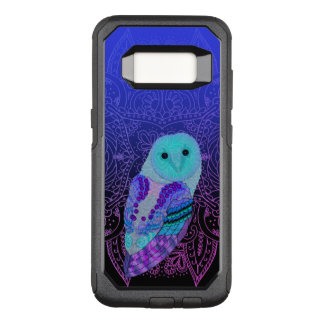 Swirly Barn Owl OtterBox Commuter Samsung Galaxy S8 Case